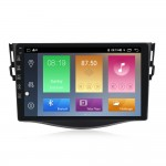 NaviFly M Android 9 4core 1+16GB 2.5D Car DVD Player for Toyo-ta RAV4 Rav 4 2007-2011 Car Radio GPS Navigation Wifi Player