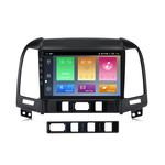 Navifly Android 9 IPS 1G+16G Car Video for Hyundai Santa Fe 2 2006-2012 RDS Car Radio Stereo Video GPS Navigation DSP carplay