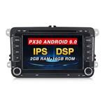 Android система PX30 9.0 2+16g IPS+DSP Universil (с кнопками)