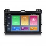 NaviFly M Android 10 IPS DSP 4+64GB 2.5D bulit-in Carplay Car stereo video for Toyo-ta Land Cruiser Prado 120 2004-2009 4G LTE