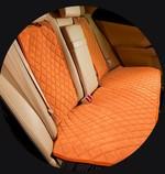 MyMats Рыжая Накидка на задние сиденья из алькантары