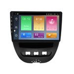 NaviFly M100 Voice Control 2.5D IPS Screen Android 9 1+16G Car DVD Player For Peugeot 107 2009-2015 Car Radio GPS Navigator