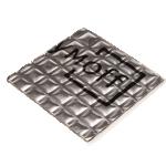 Шумофф М4м, 370мм*270мм, материал вибродемпфирующий самоклеящийся