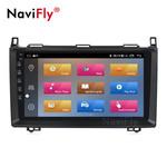 NaviFly M Android 10.0 IPS 1+16G/4+64G Car+DVD+Player Car video for Benz B200 A B Class W169 W245 W639 W906 WIFI GPS Navigation