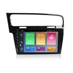 NaviFly M Android 9 4core 1+16GB 1280*720 HD screen Car GPS navigation for VW Volkswagen Golf 7 DVD Radio player with 4G
