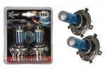 1007045 XENITE H4 (SUPER WHITE +30%)(P43t) (12V)Блистер 2 шт.