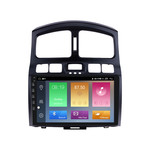 Navifly M100 Android 9 1+16G Car DVD Player For Hyundai Classic Santa Fe 06 Car GPS RDS Radio Stereo Video GPS DSP WIFI Audio BT