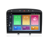 NaviFly M100 Voice Control 2.5D IPS Screen Android 9 1+16G Car DVD Player For Peugeot 408 Car Radio GPS Navigator