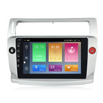 NaviFly M100 Voice Control 2.5D IPS Screen Android 9 1+16G Car DVD Player For 2004-09 Citroen C4 Car Stereo Radio GPS Navigator