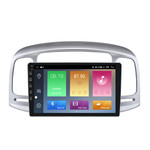 Navifly M100 Voice Control Android 9 1+16G Car DVD Stereo Video Player For Hyundai Accent 06-11 Radio Audio WIFI GPS BT SWC RDS
