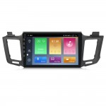 NaviFly M Android 9 4core 1+16GB 2.5D Car Radio GPS Navigation Car DVD Player for Toyota RAV4 Rav 4 2013-2014 Wifi Player