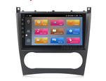 NaviFly M Android 10 2.5D full touch 1+16G car dvd player Car video for Ben-z W203 W209 W219 A-Class A160 C-Class C180 C200