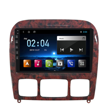 NaviFly M100 voice control 2.5D IPS screen Android 9 16G Car multimedia player For Benz S Class 1998-05 CAR radio gps navigator