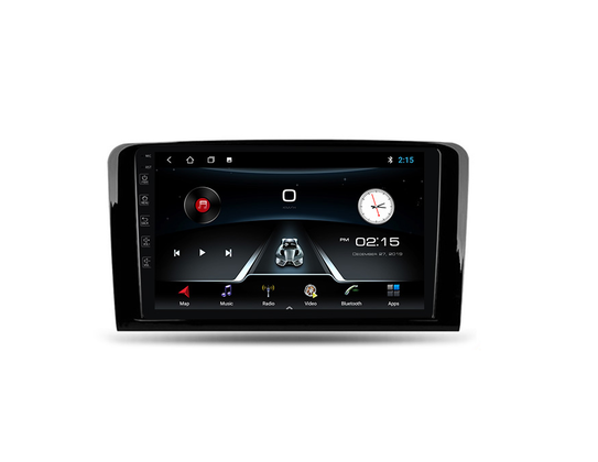 Navifly 9'' Android 9 4Core 1+16g 2.5D voice control Car Video For Benz M Class W164 GL Class X164 ML GL ML350 ML500 GL320 ML280