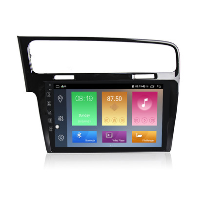 Navifly Android 9 IPS 1G+16G Car Auto headunit GPS Navigation For VW Volkswagen Golf 7 RDS Radio Stereo Video GPS DSP carplay