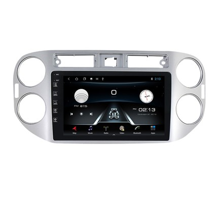 Navifly Voice control Android 9 1+16G Car DVD Stereo Video Player For VW Tiguan 2010-2016 GPS RDS Radio Audio WIFI GPS BT SWC