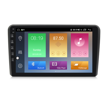 NaviFly M Android 10.0 IPS 4Core 1+16G Car+DVD+Player Car video for Audi A3 8P S3 8P RS3 Sportback WIFI GPS Navigation